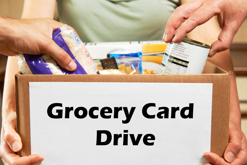 Grocery Card Drive